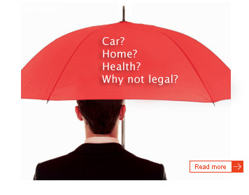 Car? Home? Health? Why not legal?